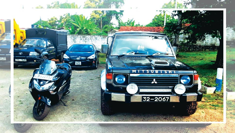 Luxury cars, vehicles,  communication systems recovered:  Breakthrough in Narcotics Probe of top cops