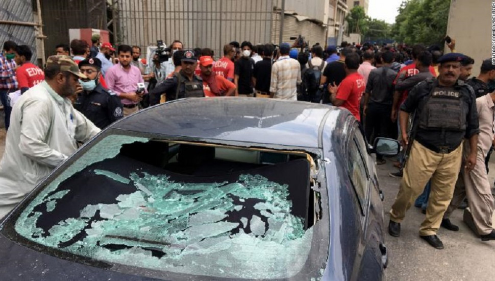 Multiple people dead after attack on Pakistan Stock Exchange in Karachi