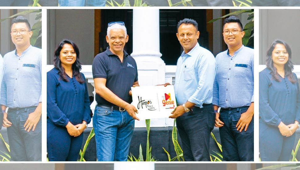 Dialog Axiata's Genie partners with Harpo's Pizza and Pasta