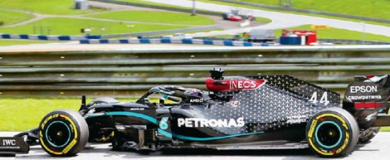 Mercedes one-two as F1 gets back on track