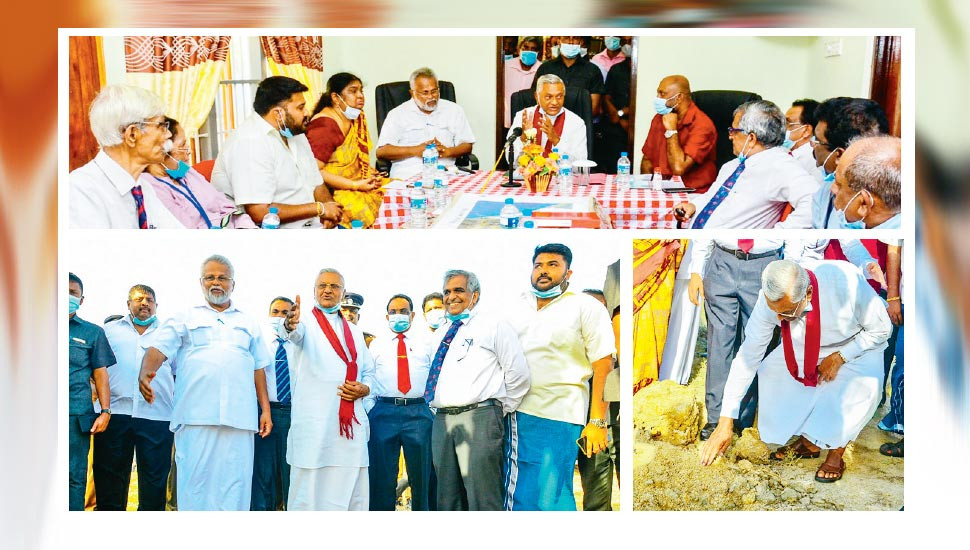 Chamal inspects water supply projects