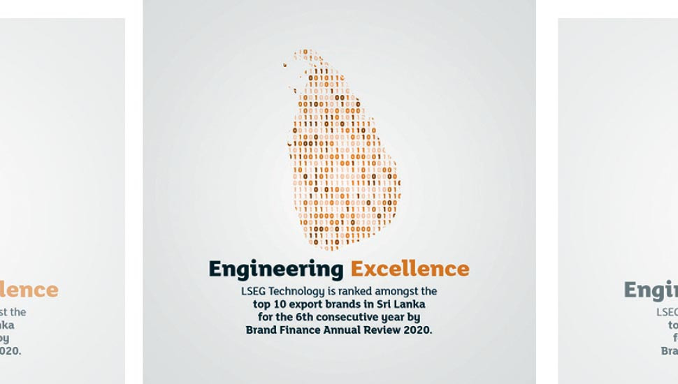 LSEG Technology ranked among SL's largest export brands for 6th consecutive year