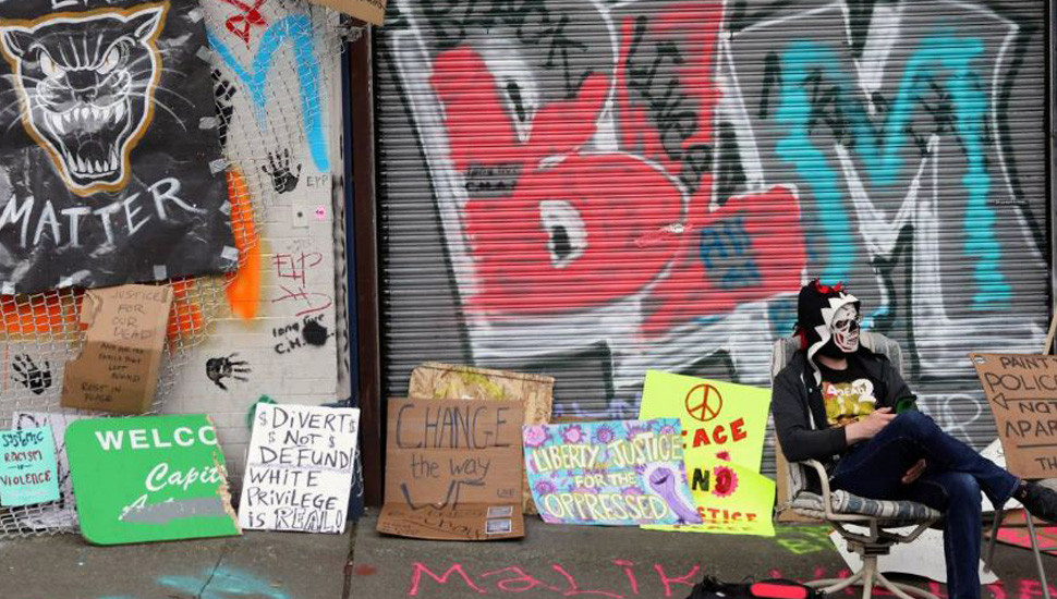 Seattle protest zone sparks property rights debate