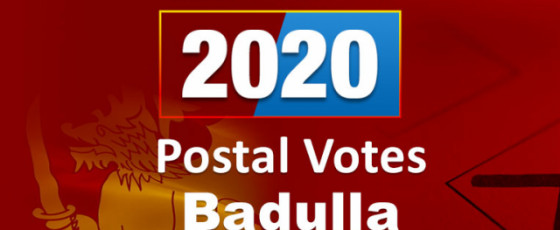 General Election 2020: Badulla District - postal voting results