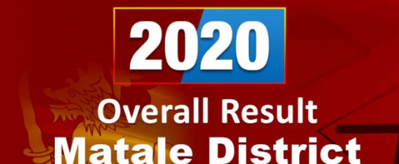 General Election 2020: Matale District