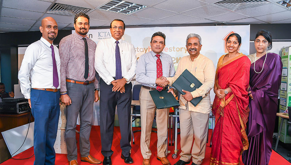 ICTA signs MoU with Sarvodaya Fusion to empower citizens through digital technology