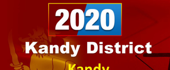 General Election 2020: Kandy electorate - Kandy District