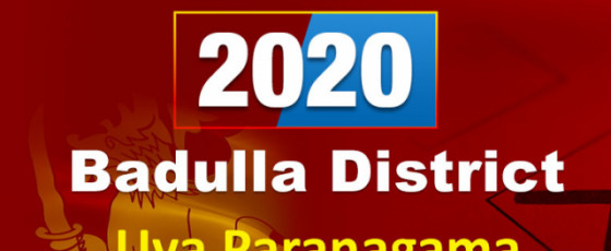 General Election 2020: Badulla District - Uva Paranagama electorate