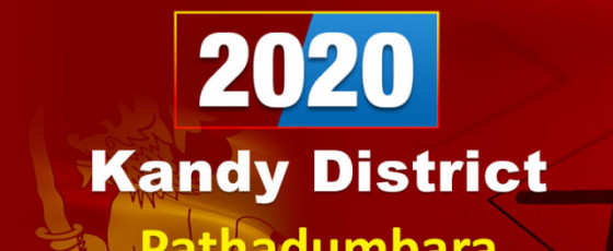 General Election 2020: Pahathadumbara electorate - Kandy District