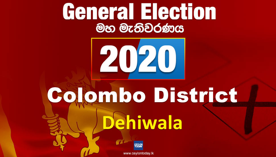 General Election 2020: Dehiwala electorate - Colombo District