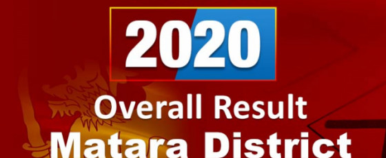 General Election 2020: Matara District