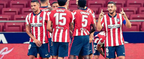 Atletico confirm two COVID-19 positives