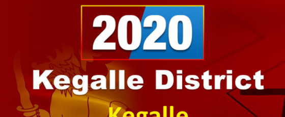 General Election 2020: Kegalle electorate - Kegalle District