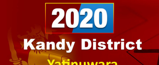 General Election 2020: Yatinuwara electorate - Kandy District