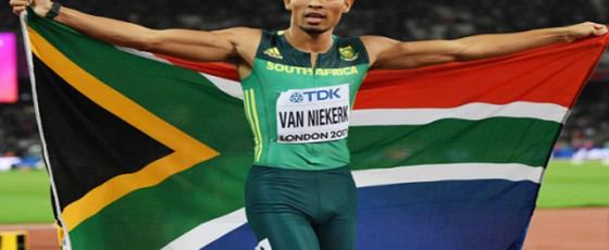400m champ Wayde tests positive for COVID-19