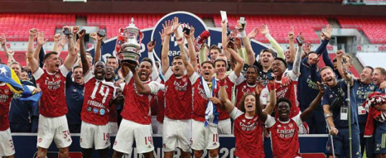 Arsenal beat Chelsea for 14th FA Cup trophy