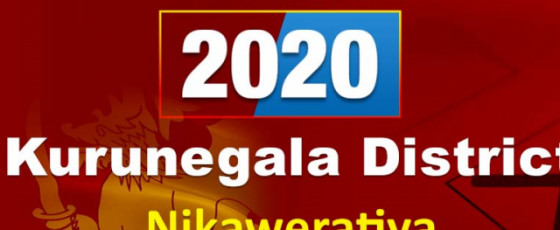 General Election 2020: Nikaweratiya electorate - Kurunegala District