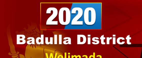 General Election 2020: Welimada electorate - Badulla District