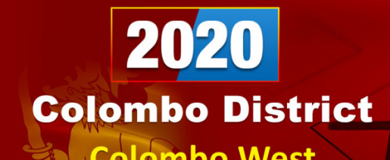 General Election 2020: Colombo West electorate - Colombo District