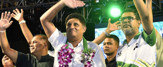 Let's get  together to  form a Govt with  a conscience – Sajith