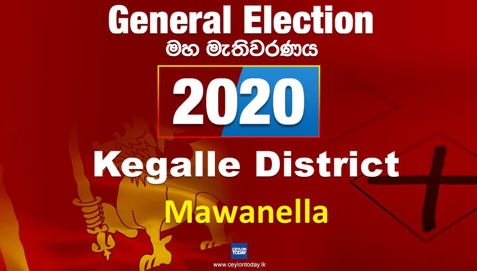 General Election 2020: Mawanella electorate - Kegalle District