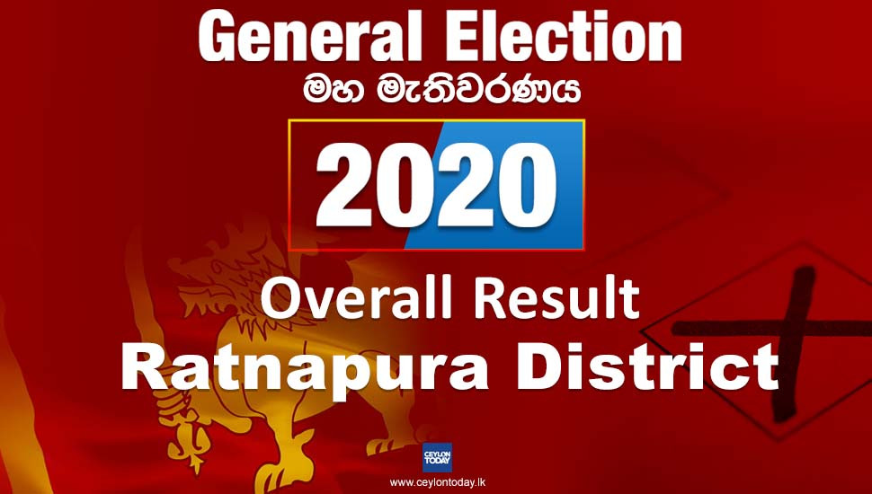 General Election 2020: Ratnapura District