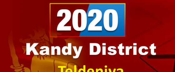 General Election 2020: Teldeniya electorate - Kandy District