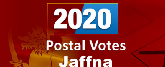 General Election 2020: Jaffna District - postal votes