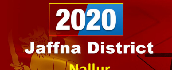General Election 2020: Nallur electorate - Jaffna District