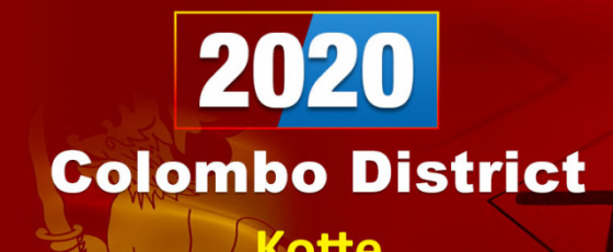 General Election 2020: Kotte electorate - Colombo District