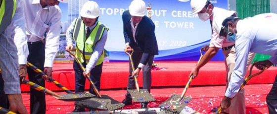 Havelock City marks topping out of Mireka Tower
