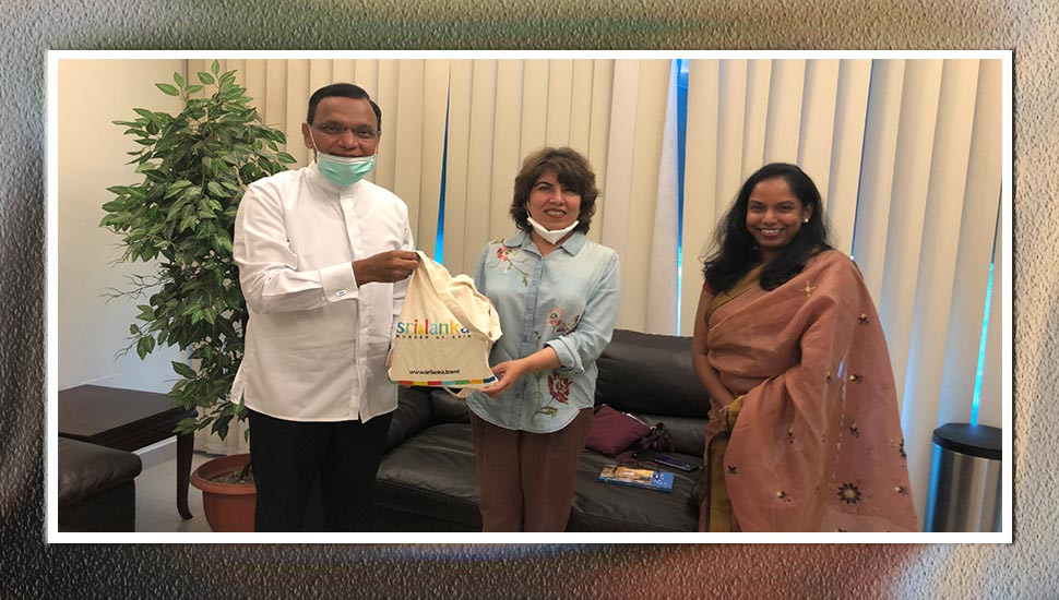 Migrant worker gives birth to triplets: SL envoy in Oman felicitates Snr Omani Consultant