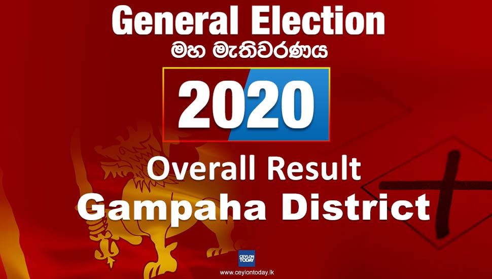 General Election 2020: Gampaha District