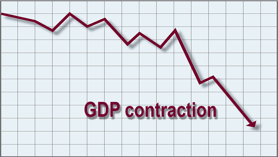 GDP contracts 1.6 per cent in 1Q'20