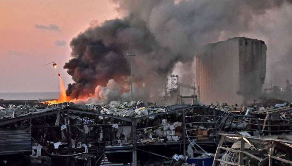 Ex-captain of cargo ship blames Lebanese authorities for blast