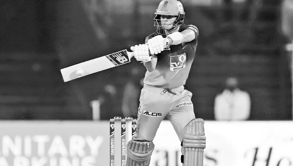 Rajasthan Royals win battle of sixes