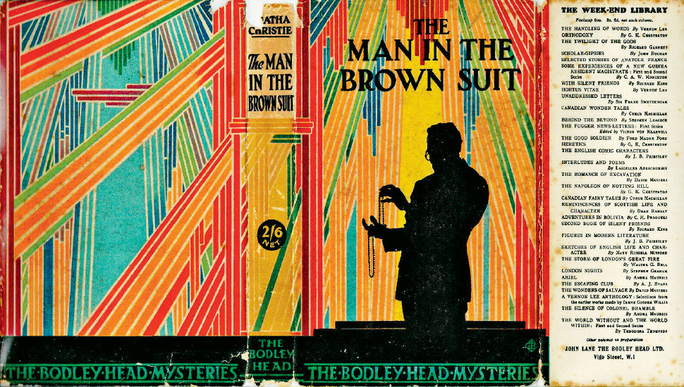 Book Review:  The Man in  the Brown Suit