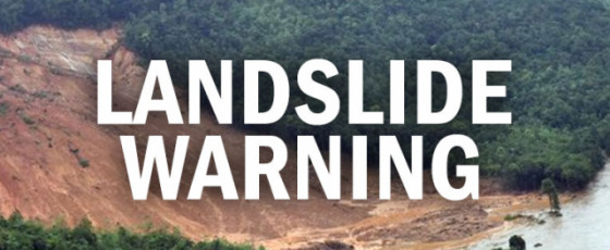 NBRO issues landslide warnings for several areas