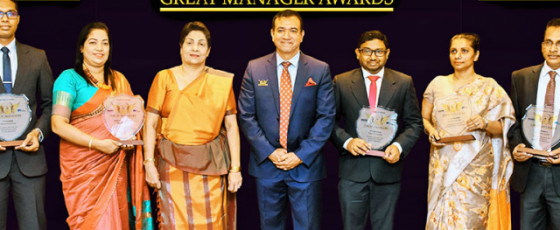 NSB  honoured as a  Company with Great Managers