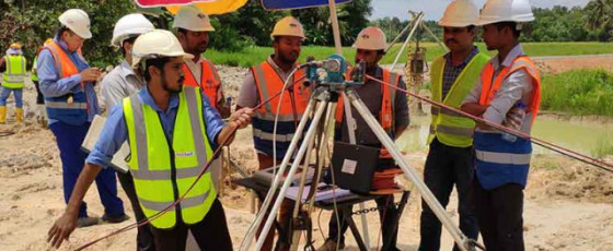 Chinese contractor begins construction of Central Expressway Section I