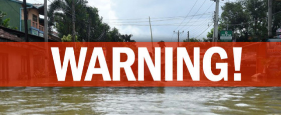 DMC issues alert for rising water levels