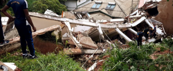 Building collapses in Kandy: two missing, infant dead