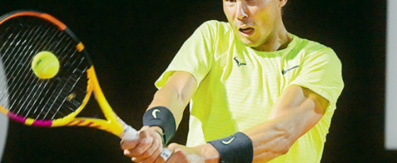 Nadal makes fast start  in Rome