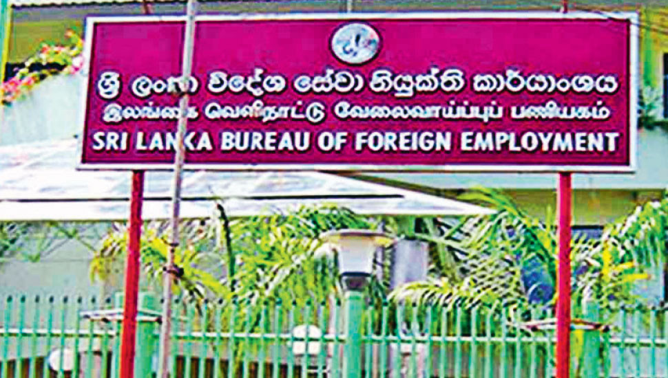 Strengthen Safety  of Sri Lankans  Working Abroad!