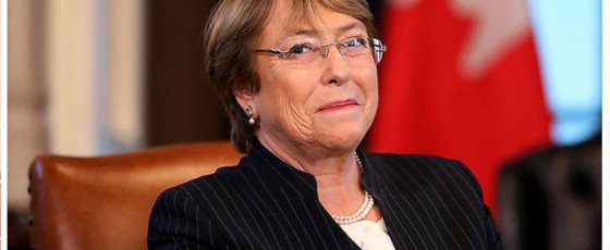 An Open Letter  to Michelle Bachelet