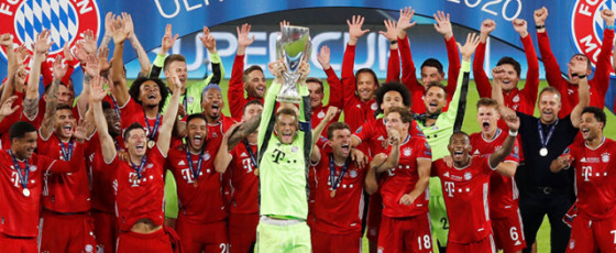 Bayern complete quadruple with Super Cup win
