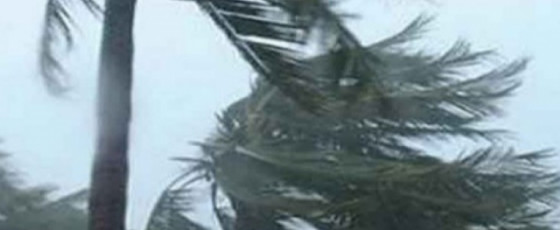 Red alert issued for strong winds