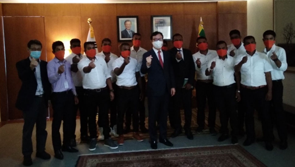 'Post COVID-19': First Batch of Lankans flying to Korea
