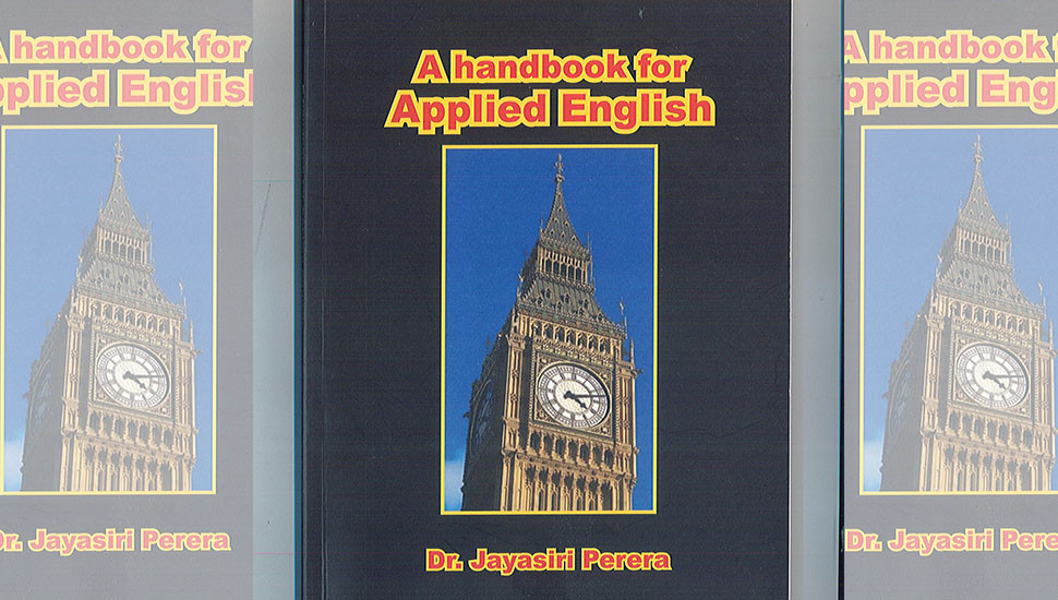 Book review: A Handbook for Applied English