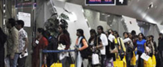 21 youth leave for South Korea for employment